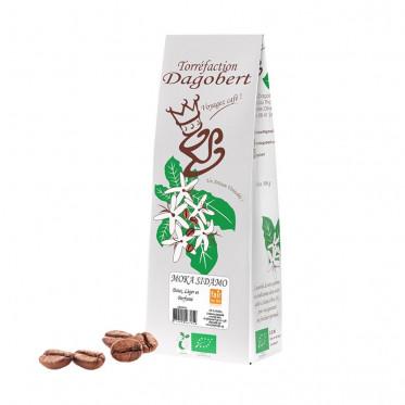 Café en grains Dagobert Moka Sidamo Léger - 500 gr