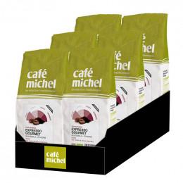 Café en Grains Bio Café Michel Expresso Gourmet - 6 paquets - 6 kg