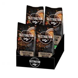 Café en Grains Bio Destination Grand Comptoir Tradition - 4 paquets - 4 kg