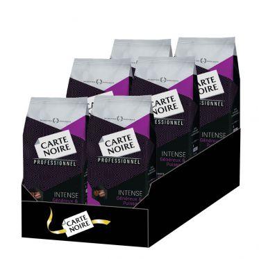 Café en Grains Carte Noire Intense - 6 paquets - 6 Kg