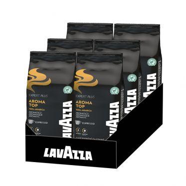 Café en Grains Lavazza Expert Aroma Top - 6 paquets - 6 Kg