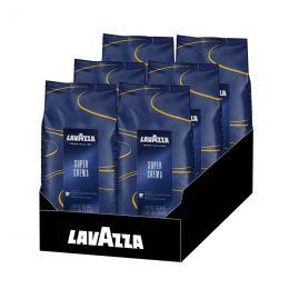 Café en Grains Lavazza Super Crema - 6 paquets - 6 Kg