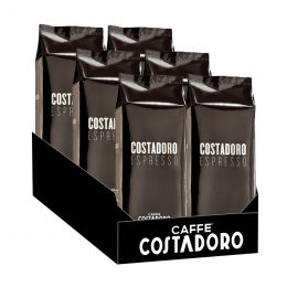 Café en Grains Costadoro Espresso - 6 paquets - 6 Kg