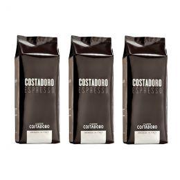 Café en Grains Costadoro Espresso - 3 paquets - 3 Kg