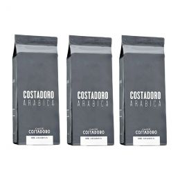 Café en Grains Costadoro Arabica - 3 paquets - 3 Kg