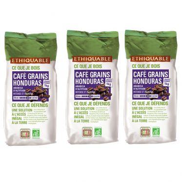 Café en Grains Bio Éthiquable Honduras - 3 kg