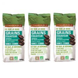 Café en Grains Bio Éthiquable Équateur - 1,5 kg