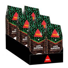 Café en Grains Delta Lote Superior - 6 paquets - 6 kg