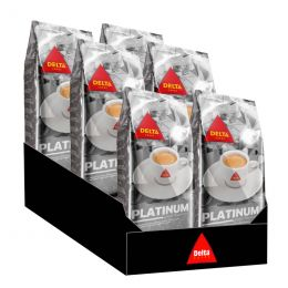 Café en Grains Delta Platinium - 6 paquets - 6 Kg