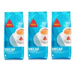 Café en Grains Delta Décaf - 3 paquets - 3 Kg