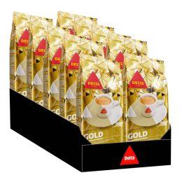 Café en Grains Delta Gold - 10 paquets - 5 Kg
