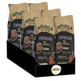 Café en Grains Bio Naturela Expresso Pur Arabica - 6 paquets - 3 kg