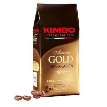 Café en Grains Kimbo Aroma Gold 100% Arabica - 1 Kg