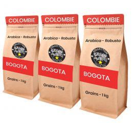 Café en Grains Cafés Albert Bogota - 3 paquets - 3 kg