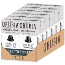 Capsule Nespresso Compatible Café Orubia Ristretto - 120 capsules