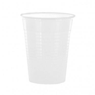 Accessoires : Gobelets au détail en Plastique Blanc pour boissons chaudes 15 cl - par 100