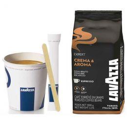 """Café en Grains Lavazza Crema & Aroma : Pack Pro """"Large"""" - 1200 boissons"""