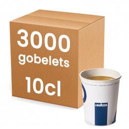 Gobelet en carton Lavazza 10 cl - par 100