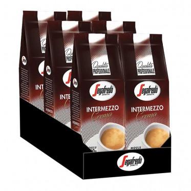 Café Moulu - Segafredo Intermezzo - 6 paquets - 6 Kg