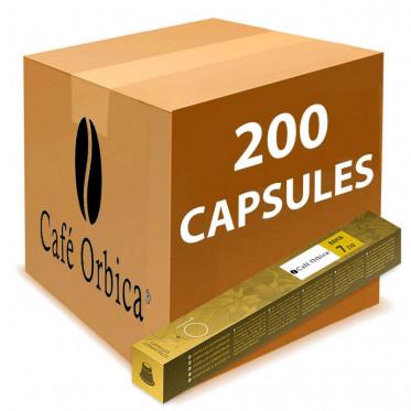 Capsules Nespresso Compatibles Orbica Brésil Indes Bahia - 1 tube - 10 capsules