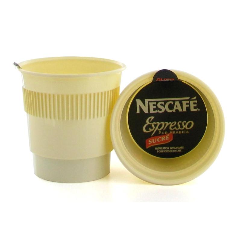 gobelet pr dos au carton caf nescaf espresso sucr 300 boissons. Black Bedroom Furniture Sets. Home Design Ideas