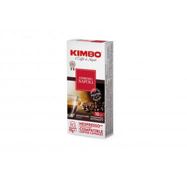 Capsules Nespresso compatible Kimbo Napoli - 10 capsules
