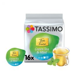 Capsule Tassimo Thé Vert Menthe Tea Time Green Tea & Mint - 16 capsules