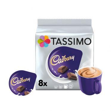 Capsule Tassimo Chocolat Chaud Cadbury - 8 boissons
