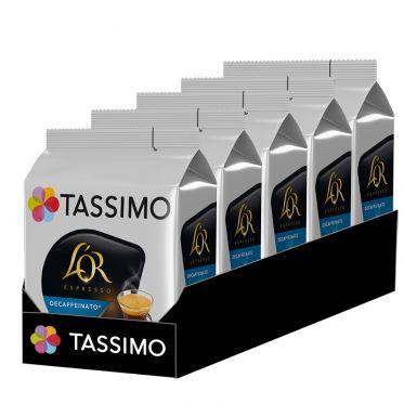 Capsule Tassimo Café L'Or Espresso Décafféinato - 5 paquets - 80 capsules
