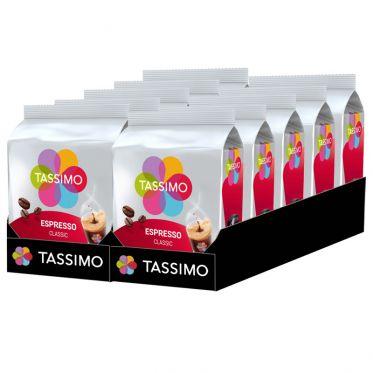 Capsule Tassimo by Tassimo Café Expresso Classique – 10 paquets – 160 capsules