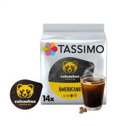Capsule Tassimo Café Columbus Americano - 14 capsules
