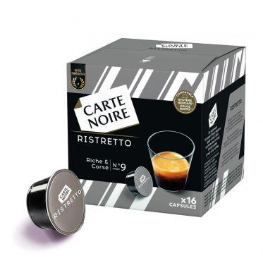Capsule Dolce Gusto Compatible Café Carte Noire Ristretto - 16 capsules