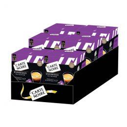 Capsule Dolce Gusto Compatible Espresso Intense - Carte Noire - 6 boîtes - 96 capsules