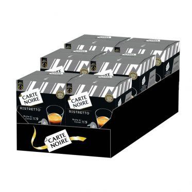 Capsule Dolce Gusto Compatible Café Carte Noire Ristretto - 6 boîtes - 96 capsules