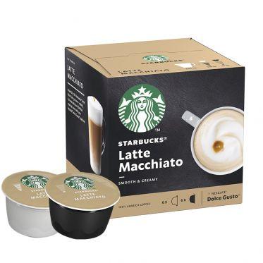 Capsule Starbucks ® by Dolce Gusto ® Latte Macchiato - 12 capsules - 6 boissons