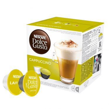 Capsules Nescafé Dolce Gusto Cappuccino - 8 boissons