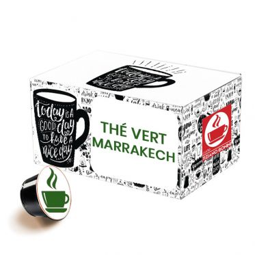 Capsule Dolce Gusto Compatible Caffè Bonini Thé Vert Marrakech - 32 capsules