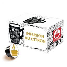 Capsule Dolce Gusto Compatible Infusion Caffè Bonini Citron et Gingembre - 32 capsules