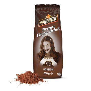 Chocolat Chaud Van Houten Passion 33% cacao - 750 gr