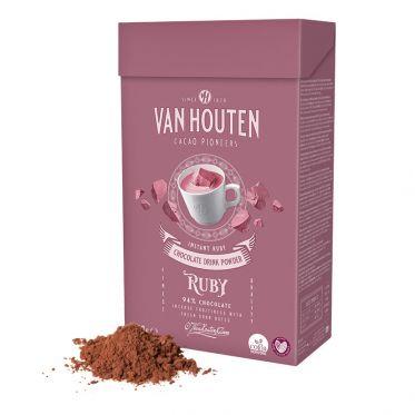 Chocolat Chaud Van Houten Ruby 94% chocolat - 750 gr