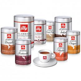 PACK découverte Café en Grains Illy - 8 boites - 2 Kg