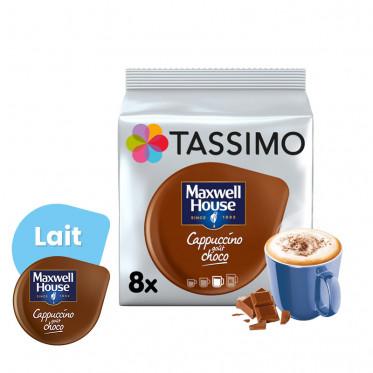 Capsule Tassimo Maxwell House Cappuccino Choco - 8 Boissons