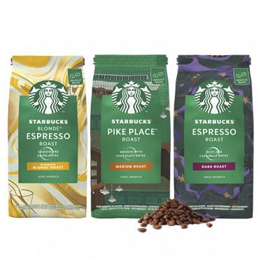 Pack découverte Café en grains Starbucks ® - 3 x 450 gr