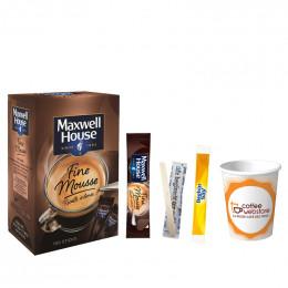 Pack Gobelets Sticks Café Maxwell House non sucré - 300 boissons