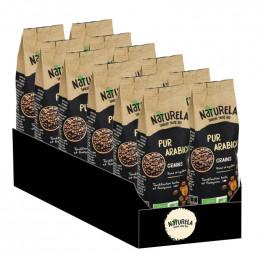 Café en Grains Bio Naturela Pur Arabica - 6 paquets - 3 kg