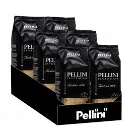 Café en Grains Pellini Espresso Bar Gran Aroma n°3 - 6 paquets - 6 Kg