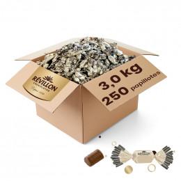 Papillotes Révillon Mini Praliné Chocolat au Lait - 3 Kg