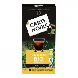 Capsule Nespresso Compatible Carte Noire Lungo Bio