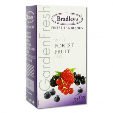 Thé Aromatisé Bradley's Fruits de Bois - 25 sachets
