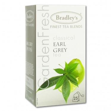 Thé Aromatisé Bradley's Earl Grey - 25 sachets